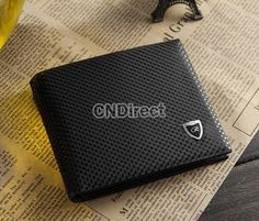 Men Classic Fashion Dot Pattern Leather Pockets Credit/ID Cards Holder Purse Wallet