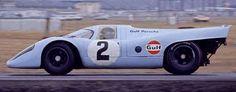 Febrero 1970, Daytona – Pedro Rodríguez y Leo Kinnunen llevan su 917 hasta la victoria en las 24 Horas.