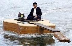 Takamine trolling boat