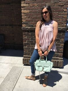 Lunch Date | how to style a halter top | spring style | spring fashion | styling for spring and summer | warm weather fashion | style ideas for spring | fashion tips for spring || The Flexman Flat