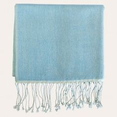 Add a touch of elegance and a fashionable twist to every ensemble with a luxurious cashmere-silk blend pashmina scarf. Simple, chic and incredibly soft, you'll find it an essential accessory all year round. For ultimate luxury and warmth, wrap yourself in pashmina.