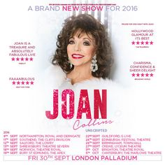 Joan Collins' Live Shows
