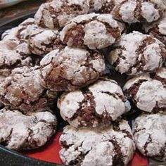 "Chocolate Crinkles III | ""There are a ton of chocolate crinkle recipes out there, but none like this one. Soft in the middle, crispy outside. Perfect!"" -Amanda"