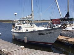 1985 Saturna 33 Pilothouse sailboat for sale in Kingston Ontario Canada Outside United States Sailboats For Sale, Used Boat For Sale, Kingston Ontario, Yacht For Sale, Used Boats, United States, Yachts, U.s. States, Ship