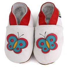 Butterfly Soft Sole Baby Shoes