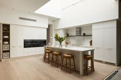 15 Tips For Planning A Kitchen Renovation Or New Kitchen - The Block Kitchen Living, New Kitchen, Kitchen Ideas, Kitchen Designs, Living Room, Kitchen Inspiration, Kitchen Interior, Luxury Kitchens, Cool Kitchens