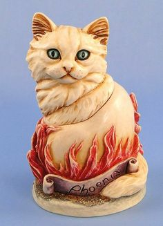 Harmony Kingdom Cosa Nostra Cat Phoenix Box Figurine - now on sale with many other Harmony Kingdom boxes