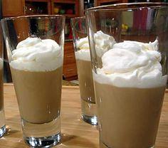 #Receta de Pudín de café con leche