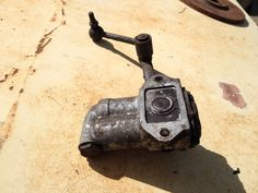 VTG Original 1962 DRIVER Side With LH Drive Sunbeam Rear Shock With Lever #Sunbeam