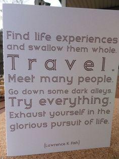 Travel travel travel!!!