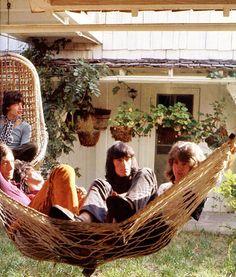 1969  The Rolling Stones, Mick Jagger, Keith Richards, Charlie Watts, Bill Wyman, Mick Taylor. Laurel Canyon