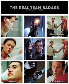 Team (Parental) Badass lol! Teen Wolf. I also ship them. It might be weird but I don't care, it fits