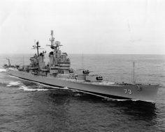 USS Saint Paul (CA-73), 1945-1980