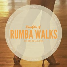 Tips on how to practice and the benefits of the Rumba Walk in Latin Dance.