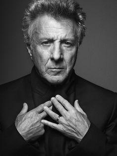 Dustin Hoffman by Mark Abrahams