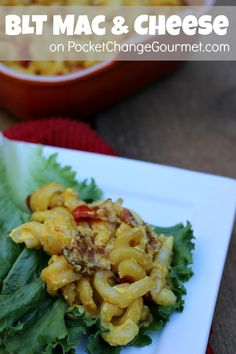 BLT Mac & Cheese ::