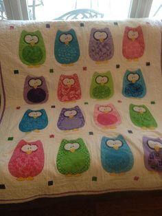Owl quilt on forum