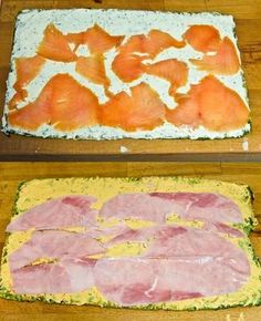 Mein absolutes Lieblingsrezept, wenn es um Fingerfood geht, sind diese Spinat-Käse-Röllchen mit Lachs. Und auch bei den Gästen kommen sie immer sehr gut an. Mittlerweile gibt es kaum eine Party ohn...