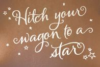 to add to my shooting star tattoo on my foot :)