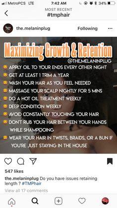 3c Natural Hair, Natural Hair Growth Tips, Natural Hair Regimen, Natural Hair Journey, Natural Hair Styles, Curly Hair Tips, 4c Hair, Hair Health And Beauty, Healthy Hair Tips