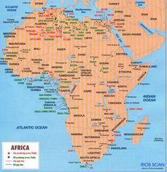 Regiones productoras de petróleo en África Morocco, Egypt, Maps, Bullet Journal, Natural Resources, Continents, Empire, African, France