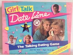 Vintage c.1989 and RARE Girl Talk Date Line board by BuyfromGroovy