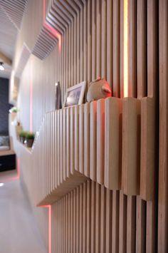 How To Work A Black And White Interior - Modern Architecture Interior Modern, Futuristic Interior, Interior Walls, Modern Kitchen Design, Interior Design Kitchen, Interior Decorating, Regal Design, Küchen Design, Design Ideas