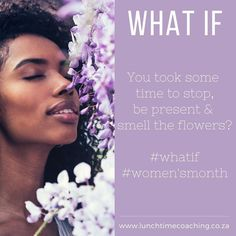 #womensmonth #whatif #lunchtimecoaching
