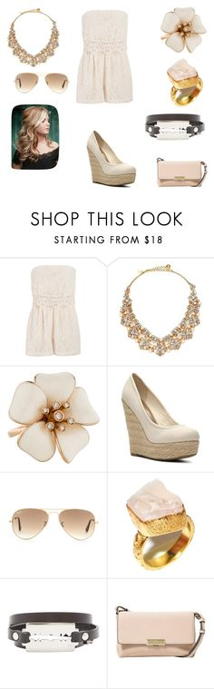 """""""Untitled #229"""" by dougherty-jenny ❤ liked on Polyvore featuring maurices, Kate Spade, Madden Girl, Ray-Ban, McQ by Alexander McQueen, MANGO, women's clothing, women, female and woman"""