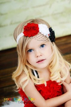 This is to die for! She is so cute and the headband is completely perfect.