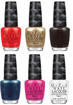 Opi Ford Mustang Summer 2017 Collection Nail Polii