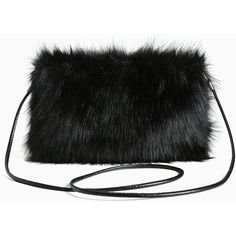 Torrid Faux Fur Clutch Handbag (850 UAH) ❤ liked on Polyvore featuring bags, handbags, clutches, accessories, purses, purse cross body, cross-body handbag, man bag, faux-leather handbags and purse crossbody