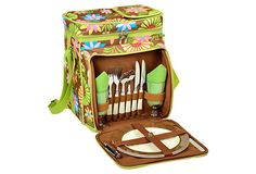 Floral Picnic Cooler for 2