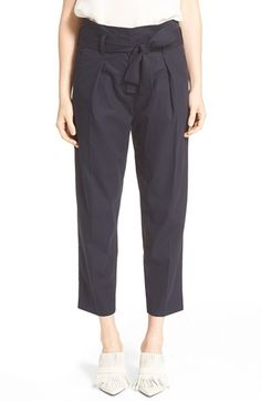 3.1 PHILLIP LIM Belted Paperbag Waist Trousers. #3.1philliplim #cloth #