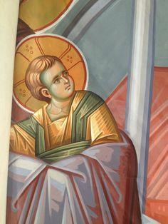 Byzantine Icons, Orthodox Icons, Virgin Mary, Fresco, Vignettes, Princess Zelda, Children, Face, Blog