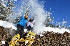Das #Mühlviertel beim #Schneeschuhwandern entdecken. Weitere Informationen zu #Winterurlaub im Mühlviertel unter www.muehlviertel.at/winteraktivitaeten - ©Oberösterreich Tourismus/Röbl