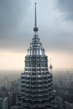 One of the PETRONAS twin towers