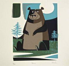 「おしゃれな イラストレーター クマ」の画像検索結果