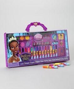 Take a look at this Princess and the Frog Take-Along Art Set by Disney on #zulily today!