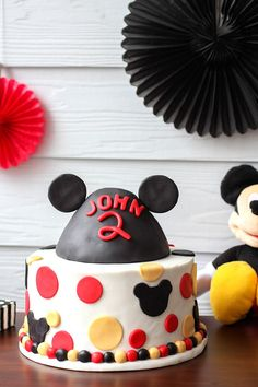 Come inside, it's fun inside as we celebrate John's Mickey Mouse birthday party - featuring food ideas, decor, invitations, printables, and more.