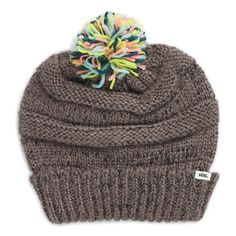 Feldman Beanie ($26) ❤ liked on Polyvore featuring accessories, hats, shark grey, slouch beanie, slouchy hat, pom pom beanie hat, gray beanie and gray beanie hat
