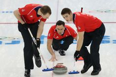 GB's men curlers are looking for glory against Switzerland