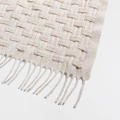 PLAITED WOOL BLANKET - Blankets - Decoration | Zara Home United Kingdom