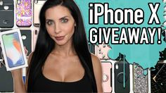 Help me win this awesome iPhone X Giveaway!