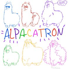 ALPACATRON hhahaha thia is so funny I cant belieive some one came up with this idea lol x100