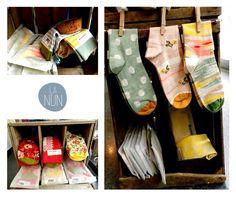 Mirad los calcetines de Bonne Maison en La Nun