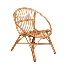Ranto Rattan Chair at Found Vintage Rentals. These bamboo rattan chairs are full of personality and are great as lounge seating.