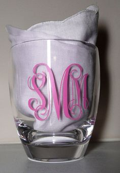Personalized Tumblers Set of 16 by Textually Preppy on Etsy, $50.00
