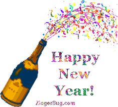 happy new year animated graphics bing images