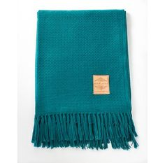 Mermaid Alpaca Blend Throw by ashermarket Good for contrasting with too light armchair?